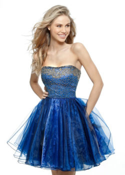 Cute Strapless Beaded Organza Navy Gunmetal Homecoming Dress 2017 [Sherri Hill 51398 Navy Gunmetal] – $190.00 : Prom Dresses 2017,Wedding Dresses & Gowns On Sale,Buy Homecoming Dresses From Ailsadresses.com