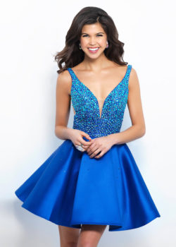 2017 Cute V Neck Beaded Bodice Royal Mikado A Line Homecoming Dress [Intrigue By Blush 350 Royal] – $188.00 : Prom Dresses 2017,Wedding Dresses & Gowns On Sale,Buy Homecoming Dresses From Ailsadresses.com