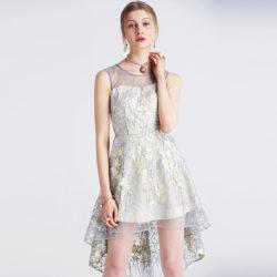 2017 Latest Mesh Embroidery Fashion Women Asymmetrical Party Bridesmaid Dress [Ailsa 401] – $87.00 : Unique Designer Women's Clothing & Dresses Shop Online Now For Affordable Styles – Ailsaclothing.com