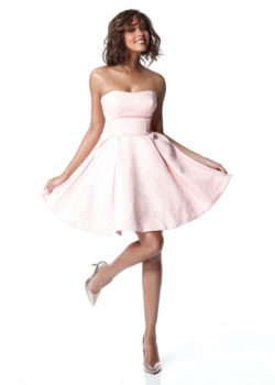 Pleated A-line Strapless Blush Short Homecoming Dress With Semi-open Back [Sherri Hill 51518 Blush] – $190.00 : Prom Dresses 2017,Wedding Dresses & Gowns On Sale,Buy Homecoming Dresses From Ailsadresses.com