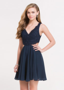 Lovely V Neck Lace Side Cutouts Open Back Navy Blue Homecoming Dress [Alyce 3713 Navy Blue] – $140.00 : Prom Dresses 2017,Wedding Dresses & Gowns On Sale,Buy Homecoming Dresses From Ailsadresses.com